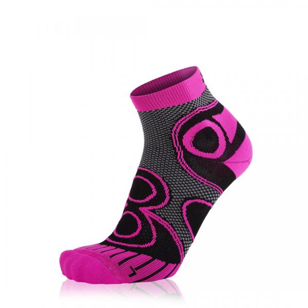 Eightsox Running-Socke – Ambition Short in schwarz/pink