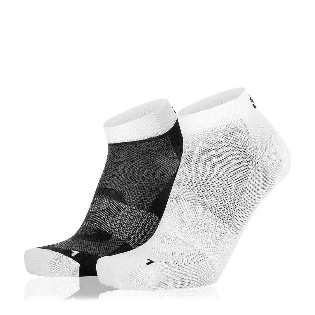 Eightsox Socken Doppelpack– Black-1 in weiß/schwarz