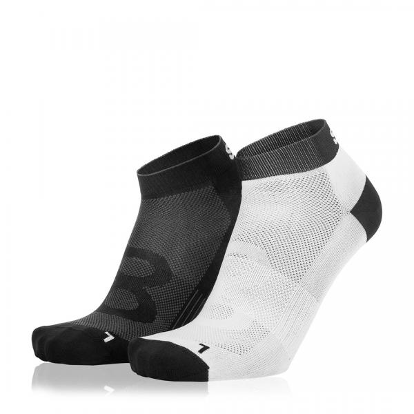 Eightsox Socken Doppelpack– Black-1 in schwarz/weiß