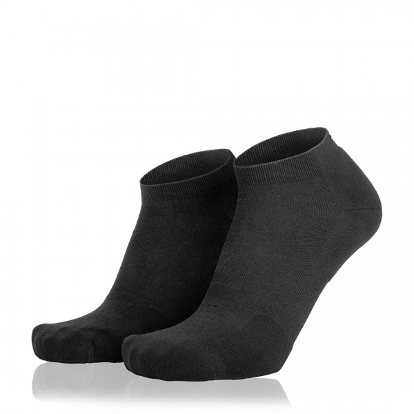 Eightsox Socken Doppelpack– Black-3 in schwarz