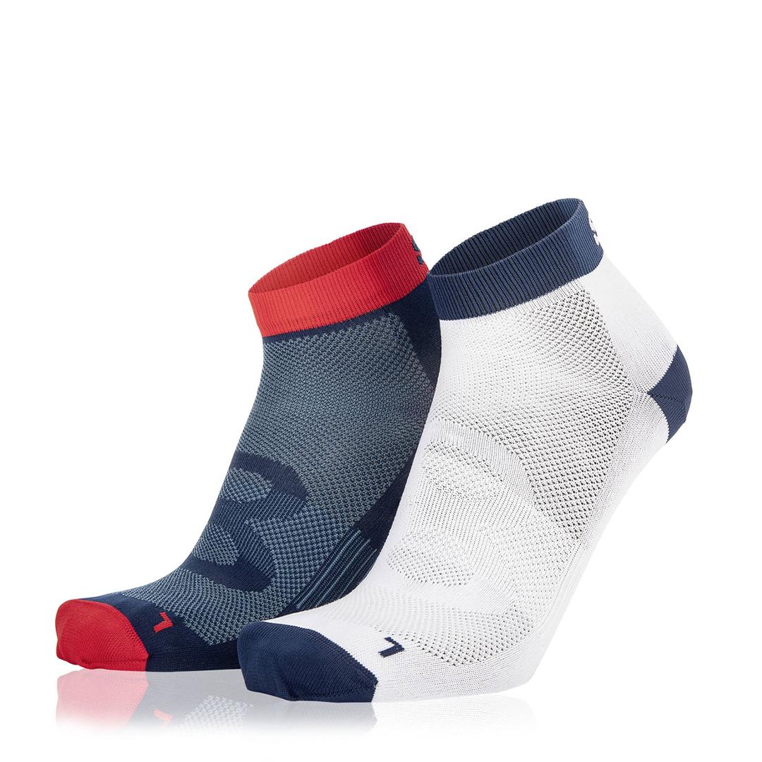 Eightsox Socken Doppelpack – Color 2 in marine/weiß