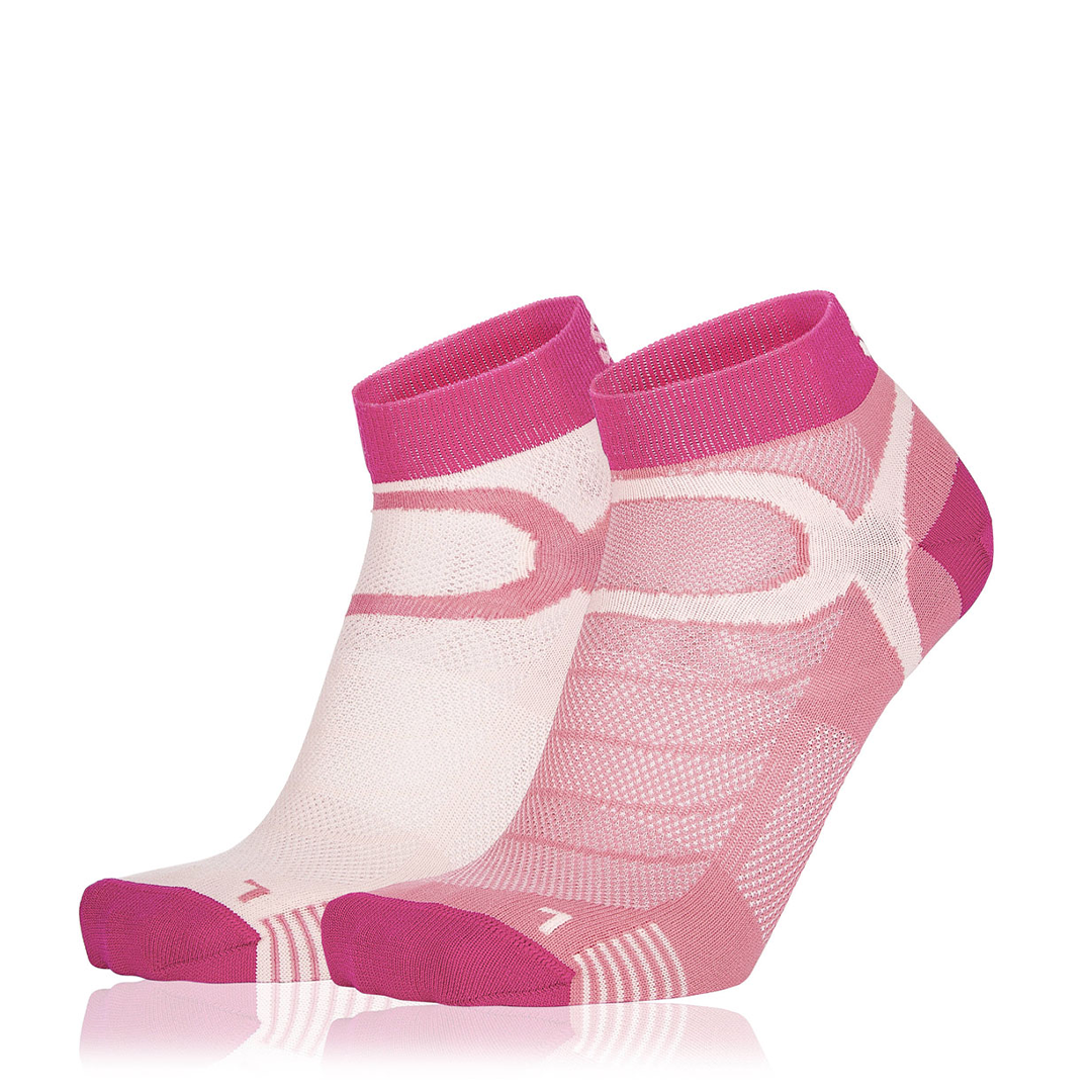 Eightsox Socken Doppelpack – Color 3 in pink/rosa