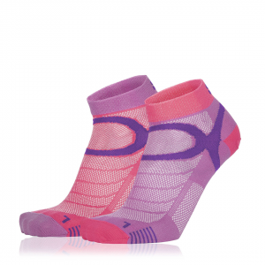 Eightsox Socken Doppelpack – Color 3 in violett/fuchsia
