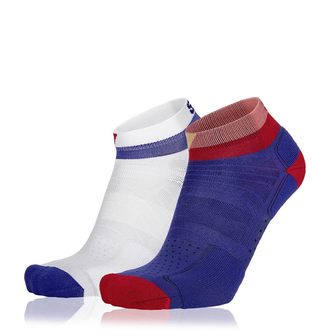 Eightsox Socken Doppelpack – Color 4 in blau/navy