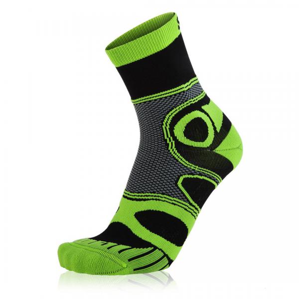 Eightsox Bike-Socke – Mountainbike in schwarz/grün