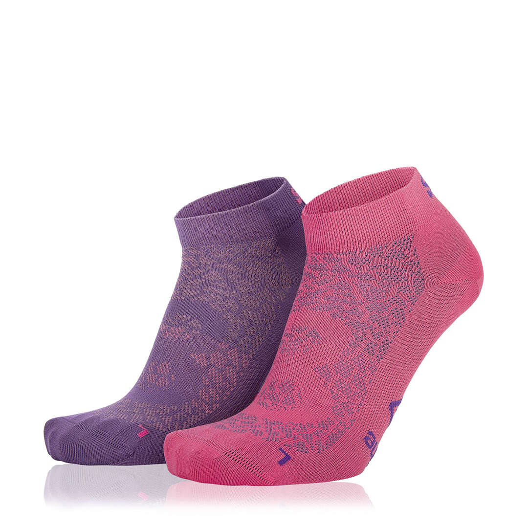 Eightsox Socken Doppelpack – Nature in violett/fuchsia