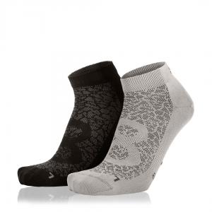 Eightsox Socken Doppelpack – Nature in grau/schwarz