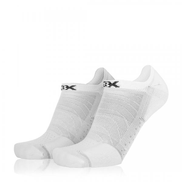Eightsox Socken Doppelpack – Sneaker in weiß