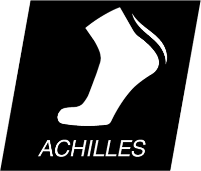 Eightsox Technologie Icon Achillessehnen Komfortzone