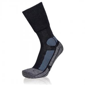 Eightsox Trekking-Socke – TK Merino in schwarz/anthrazit