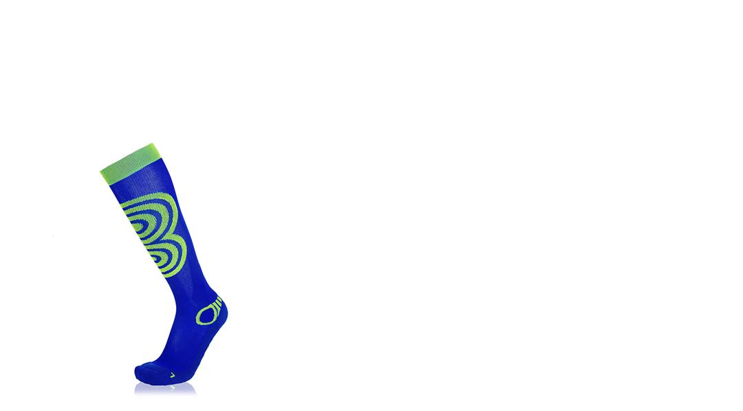 Eightsox Ski Power Socke in grau