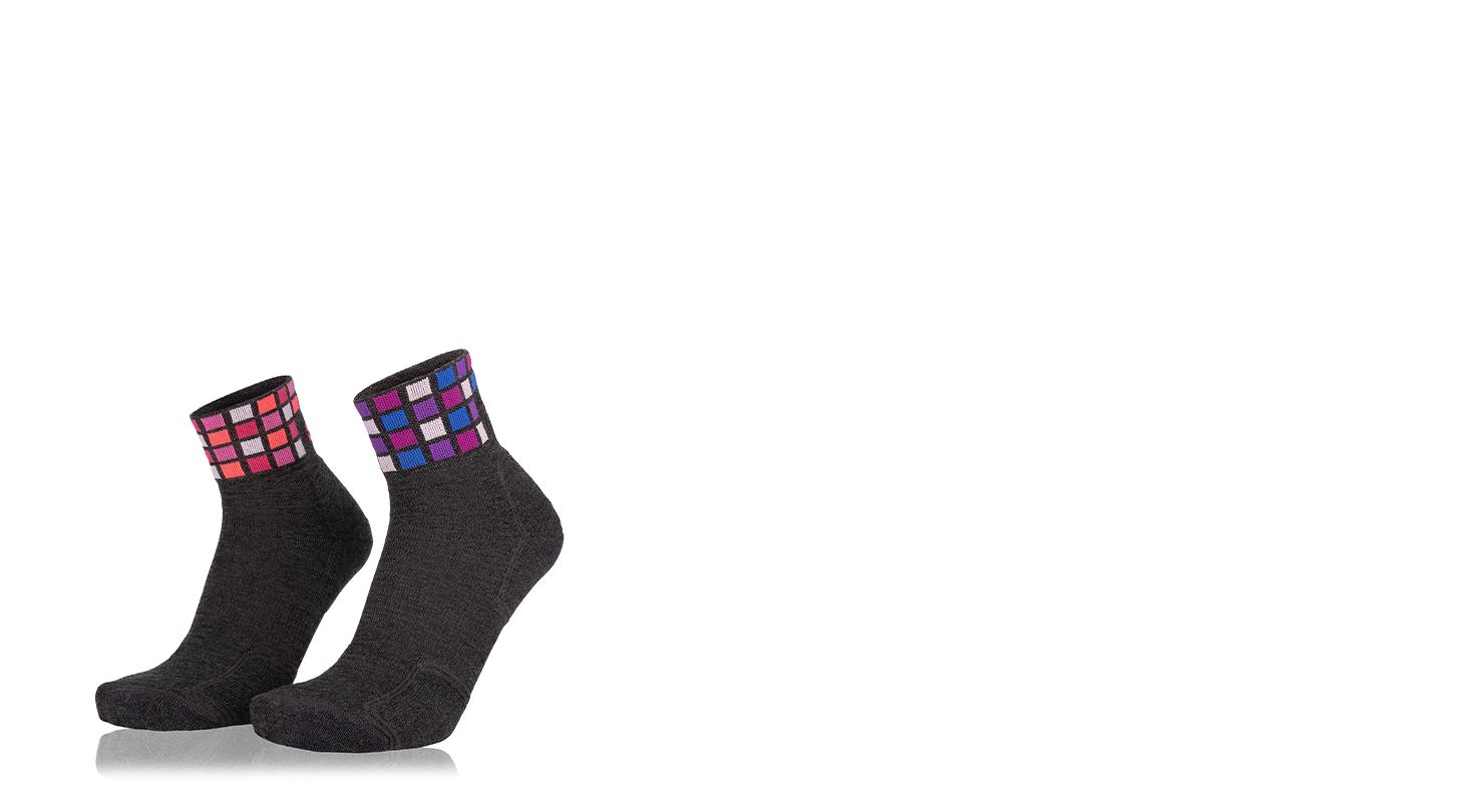 Kachel Color Mid Merino Socke